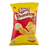 #4: Bingo Yumitos Chips - Original Style Red Chilli Bijli, 35g