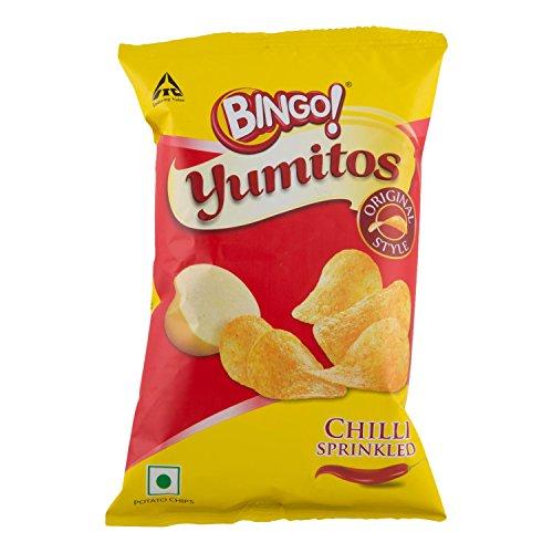 Bingo Yumitos Chips - Original Style Red Chilli Bijli, 35g