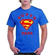 Camisetas divertidas Parent Super Papa - para Hombre Camiseta