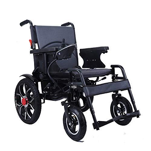 XINTONGDA Silla de Ruedas eléctrica Plegable para minusválidos Vespa para discapacitados con...