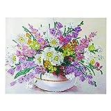 Amarzk Beauty Flower 5D Special Shaped Diamond Painting Stickerei Needlework Strass Cross Craft...