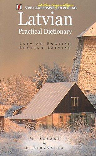 Lettisch - Englisch und Englisch - Lettisch Wörterbuch/Latvian - English and English - Latvian Dictionary: 16000 Stichwörter (Livre en allemand) par M Sosare