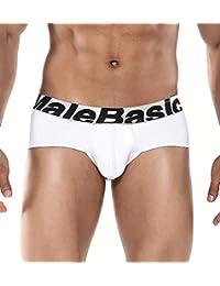 Male Basics MBM-003 Microfiber Brief Black Mens Underwear