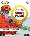 Maps plus. Fascicolo-Atlante-Preparazione esame. Per la Scuola media. Con e-book. Con espansione online: 3