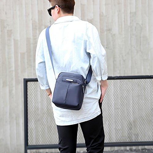 Outreo Umhängetasche Vintage Messenger Bag Sport Schultertasche Retro Herrentaschen Kuriertasche Herren Taschen für Reisen Gr¨¹n