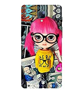 For OnePlus 3T beautiful girl ( beautiful girl, girl, cute girl, cartoon, smart girl, red hair ) Printed Designer Back Case Cover By CHAPLOOS