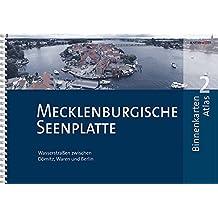 BinnenKarten Atlas 2 | Mecklenburgische Seenplatte: Wasserstraßen zwischen Dömitz, Waren und Berlin
