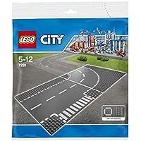 LEGO City 'Kurve & T-Kreuzung' 7281
