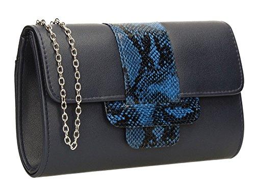 SwankySwans, Poschette giorno donna Taglia unica Navy blue