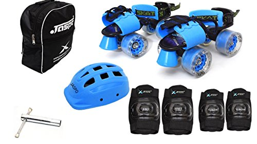 4. Jaspo Blue Derby Intact Skates
