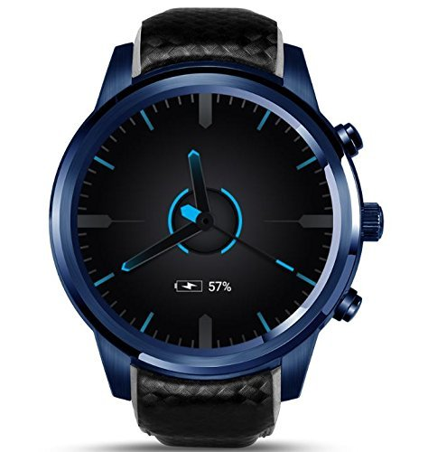 LEMFO LEM5 Pro - 3G Smartwatch Phone 1.3GHz Quad Core 2GB RAM 16GB ROM, Android 5.1 Heart Rate Monitor Pedometer GPS