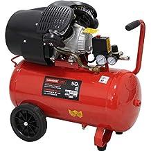 Compresor de aire 50L 2 cilindros 3Hp