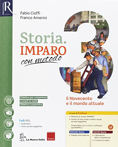 Storia imparo con metodo. Per la Scuola media. Con e-book. Con 2 espansioni online. Con 2 libri: Ripasso-Quaderno: 3