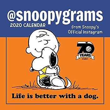 Peanuts 2020 Calendar: Snoopygrams