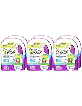 Pampers Kandoo Flushable Wipes, Sensitive, 50 Count Tub (Pack of 6) by Pampers