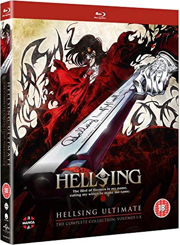 Hellsing Ultimate - Volume 1-10 Complete Collection [BOX] [6xBlu-Ray] (Keine deutsche Version)