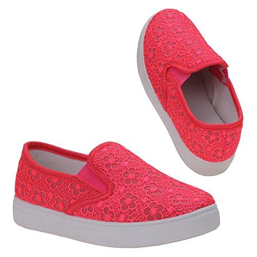 Ital-Design - basso Bambina Rosa (Pink L)