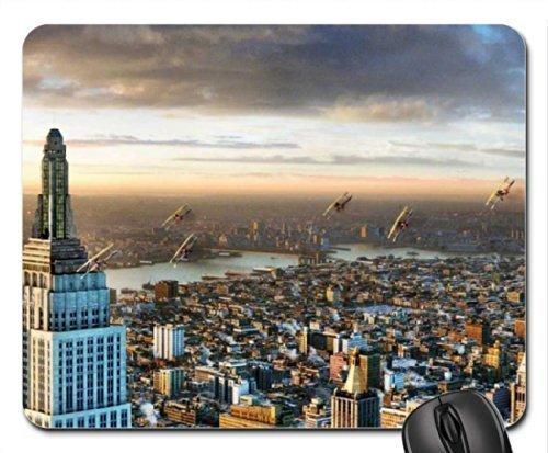 Preisvergleich Produktbild planes over the city Mouse Pad,  Mousepad (Skyscrapers Mouse Pad)