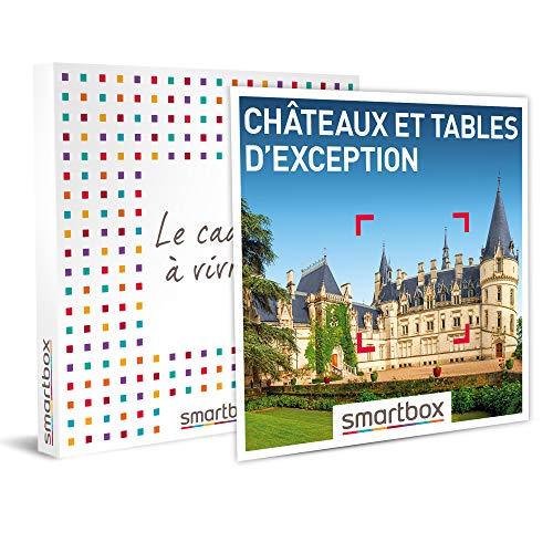 SMARTBOX - Coffret cadeau - Châteaux et tables d'exception - idée cadeau - 1 nuit...