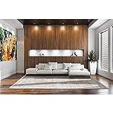 Fading World White Pepper 8382 Luxury Designer Rug By De Poortere 140X200 Cm