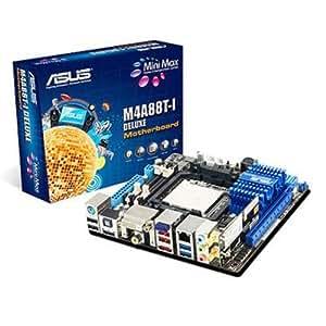 ASUS M4A88T-I Deluxe Carte-mère mini ITX AMD 880G Socket AM3 SATA-300, eSATA Gigabit Ethernet