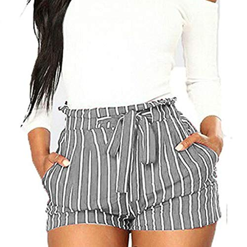 Frauen Hohe Taille Quaste Shorts Sommer Casual Die Cool Air Pants -
