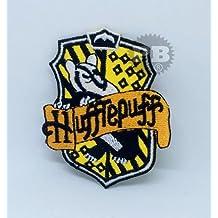 Hufflepuff Casa escudo Harry Potter hierro en Sew en bordado parche