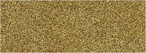 TexFlex Glitterfolie (20x30) / Thermotransfer Textilfolie (602001 Gold)