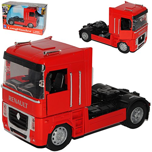 New Ray Renault Magnum AE 500 Zugmaschine Rot Truck LKW 1/32 Modell Auto