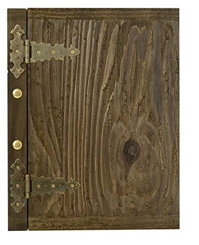 Edele Holz Speisekarte Karte Menü-Karte Brauhaus Kartenmenü Speisekarte A4 047 Holzwurmoptik