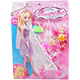 High Quality Barbie Doll And Play Set Fashions And Accessories Beautiful Dress Fashion Clothes For Barbie Doll Play House