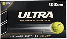 Wilson Ultra Ultimate Distance - Bolas de golf (15 unidades)