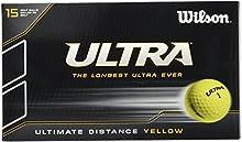 Wilson Ultra Ultimate Distance-Bolas de golf (15unidades)