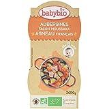 Babybio Bols Aubergines Façon Moussaka Agneau Français 2x200 g -