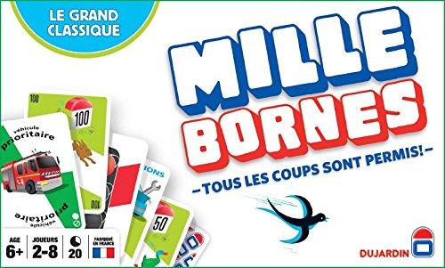 Dujardin - 59025 - Jeu de Cartes - Mille Bornes le Grand Classique