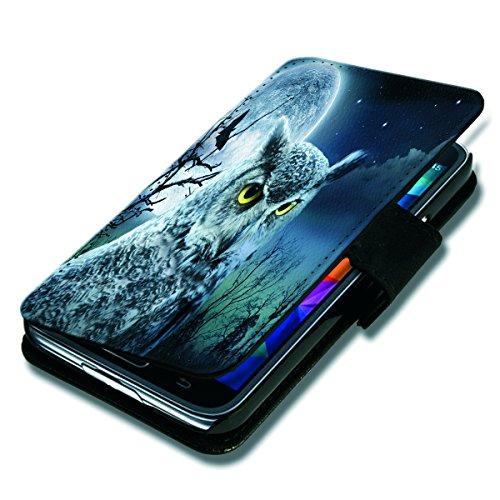 Book Style Flip Handy Tasche Case Schutz Hülle Schale Motiv Foto Etui für Apple iPhone 4 / 4S - Flip BV24 Design7 Design 7