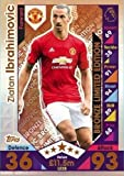 2016/17 MATCH ATTAX EXTRA ZLATAN IBRAHIMOVIC BRONZE LIMITED EDITION CARD #LE2B MAN UTD