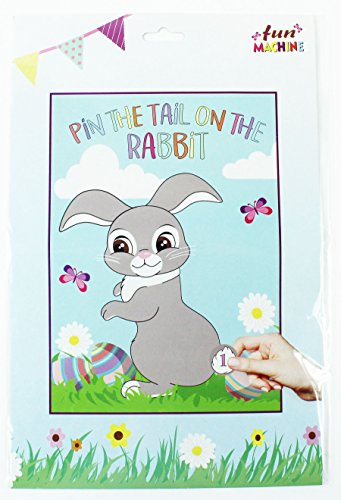 Hase Ostern Spiel Activity Spaß Kinder Hase Party Aufkleber ()