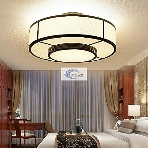 N.BD Moderna cinese Cina wind soggiorno tessuti camera da letto studio ferro antico luce a soffitto