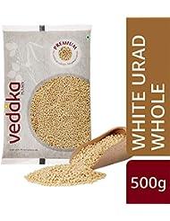 Vedaka Premium White Urad Whole, 500g