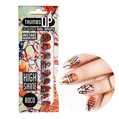 ThumbsUp Nails - Roco Nagelfolien 20 Folien / Packung