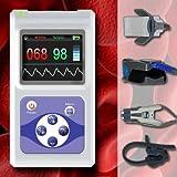 Baby Kleinkind Kinder Erwachsene Fingerpulsoxymeter Pulsmesser Pulsfrequenz EKG Sauerstoffsättigung SPO2 OM5
