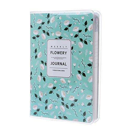 zrshygs Planning Notebook Cute Daily Monthly Weekly Planner Notebook Agenda Calendar School Supplies Gift E -