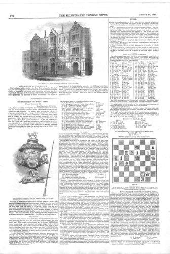 Schach Schach-Problem *64, Roby Schult Manchester