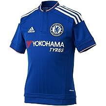 Adidas Chelsea FC Home Replica Camiseta, Hombre, Azul/Blanco / Rojo, S