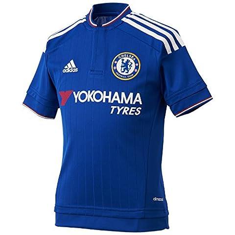 adidas Herren Heimtrikot Chelsea FC Replica, Cheblu/White/Power Red, S, AH5104