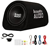 """Acoustic Audio by Goldwood ACA10T Powered Amplified 10"""" Car Subwoofer 800W with Wiring"""