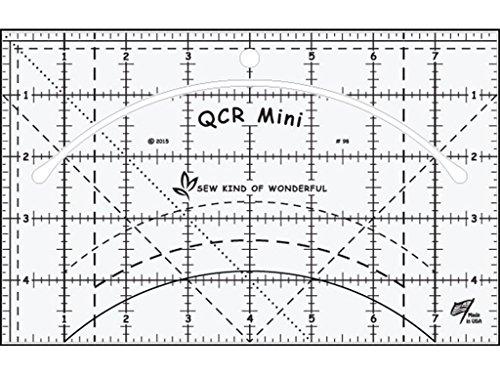 Sew Art von Wonderful skw98qcr Lineal Mini qcr Mini Lineal -