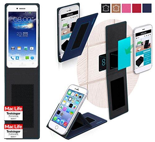 reboon Hülle für Asus PadFone Infinity 2 Tasche Cover Case Bumper | Blau | Testsieger