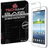 """TECHGEAR® Samsung Galaxy Tab 3 7.0"""" (SM-T210 Séries) VERRE Édition Original Verre Trempé Protecteur d'Ecran - PAS pour Tab 3 7.0 Lite (Model SM-T110 Séries)"""